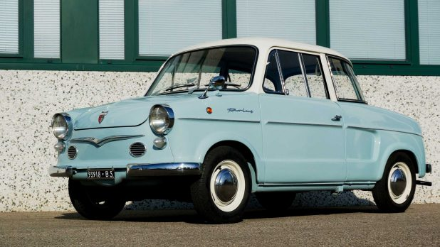 NSU Prinz 30 azzurra
