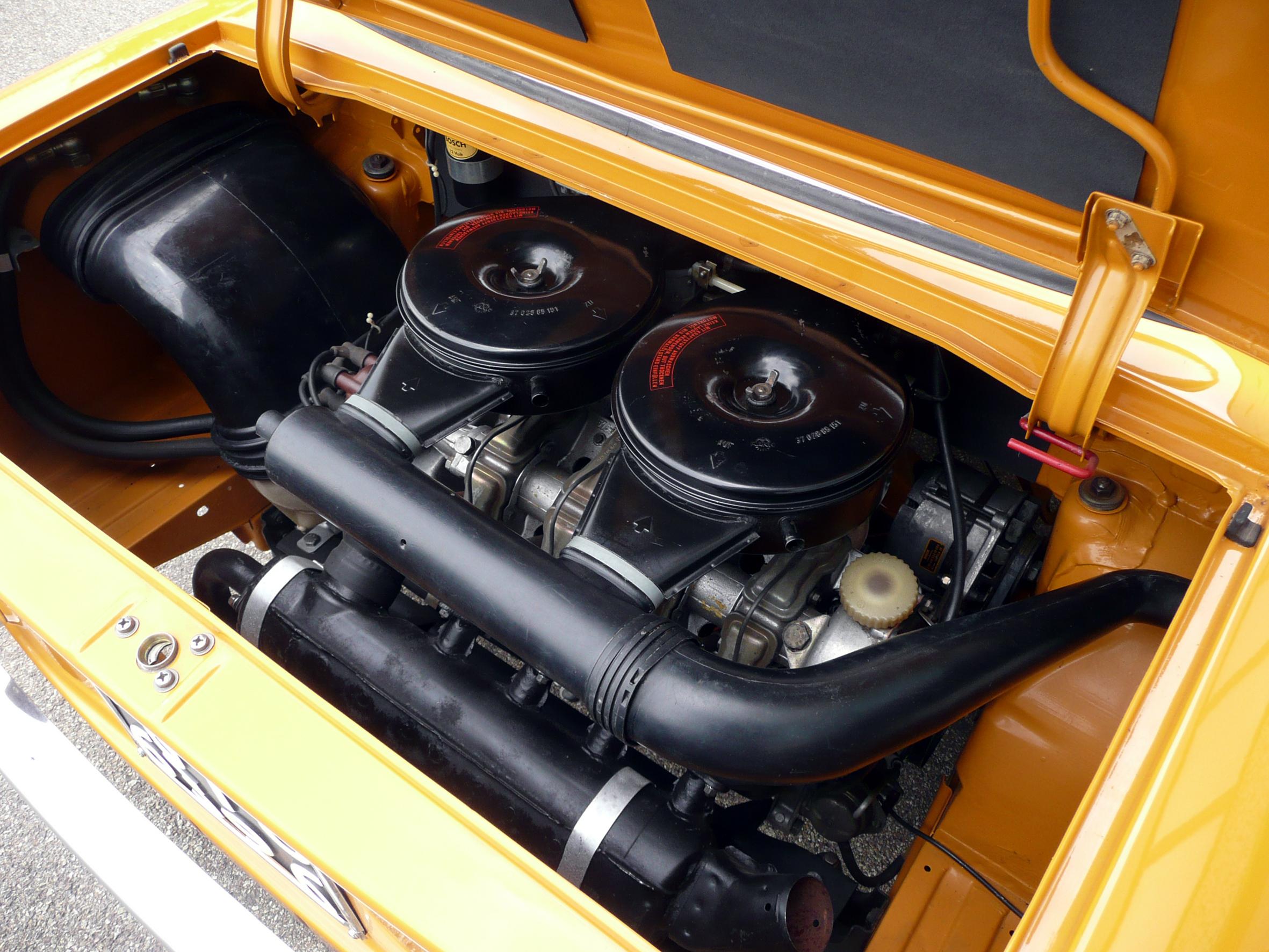 NSU TT  1200 anno 1971 motore